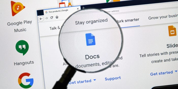 How to insert a text box or custom shape in Google Docs