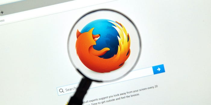 How to turn on a Firefox browser's dark mode on a computer or mobile device