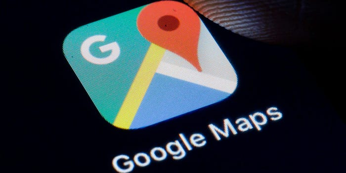 How to save a route in Google Maps for quick directions
